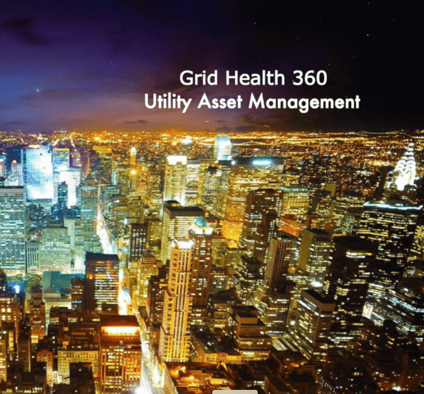 Grid Health 360 Utility Asset Management