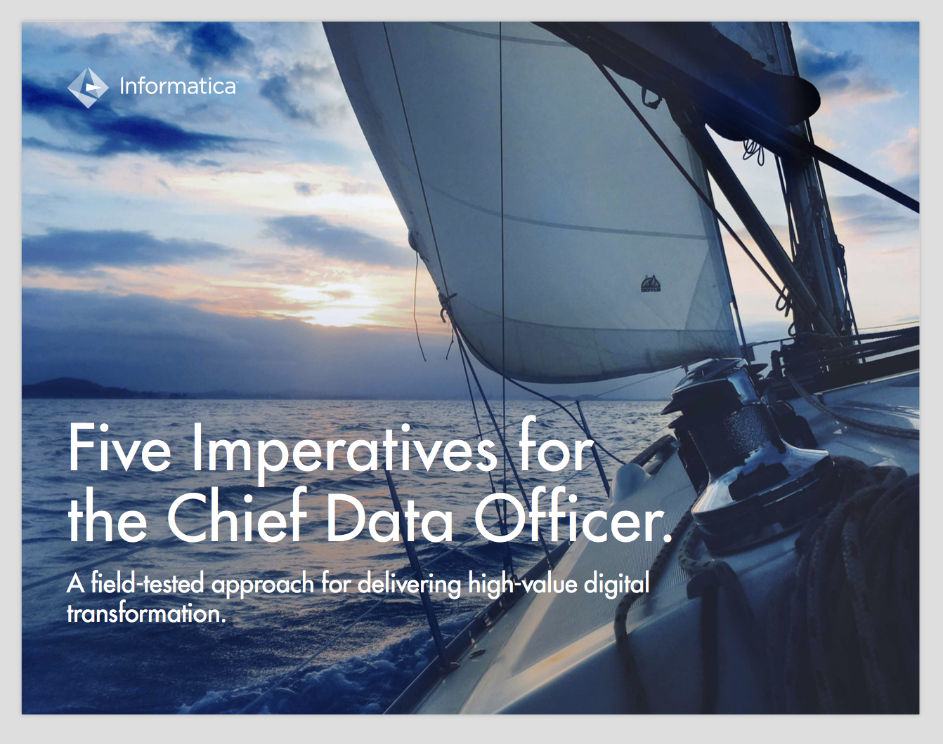 5 Imperatives for the Chief Data Officer