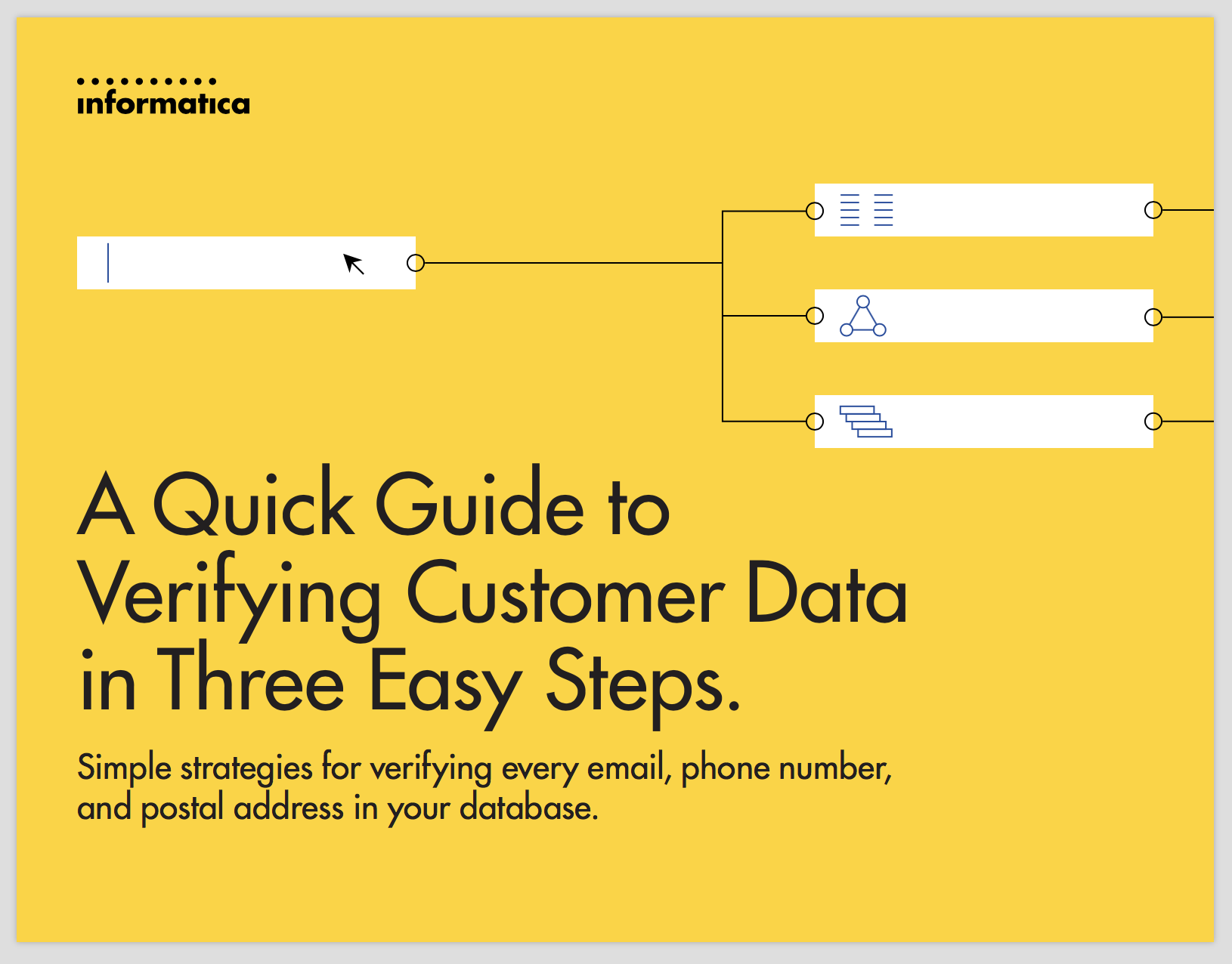 A Quick Guide to Verifying Customer Data in 3 Steps